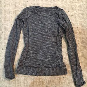 Lululemon Athletica Long Sleeve Super Soft Top.